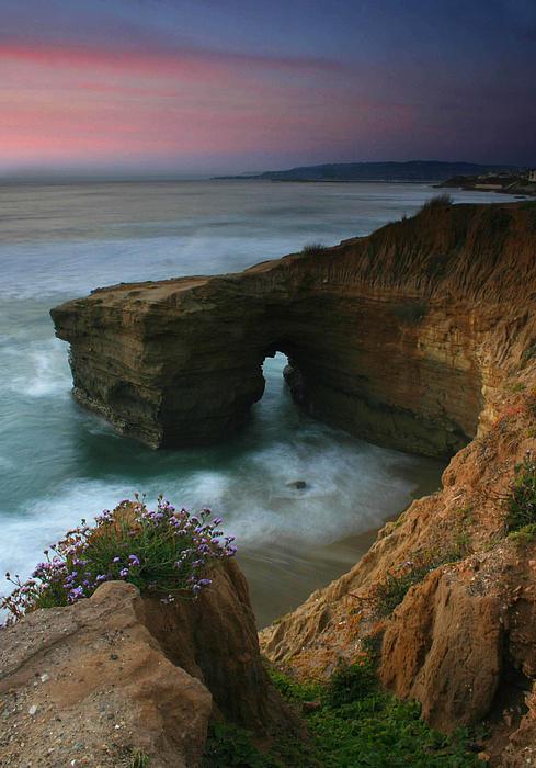 Scott Cunningham - Sea Arch Sunset