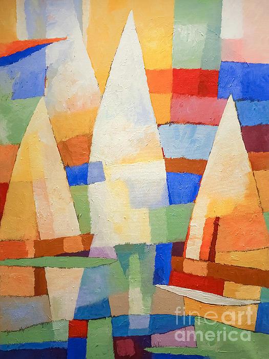 Sea Of Colors Print by Lutz Baar