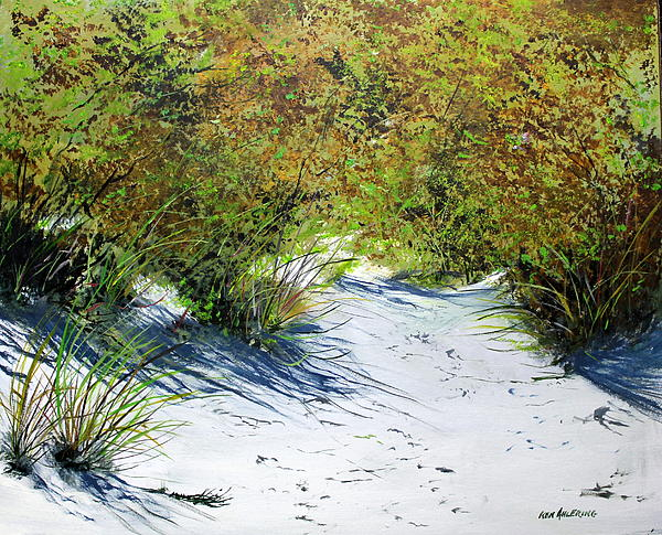 Seagrass Print by Ken Ahlering