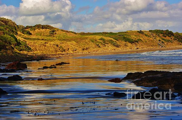 Seascape At Phillip Island Print by Blair Stuart