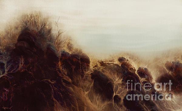 Seascape Dream  Print by Hans Neuhart