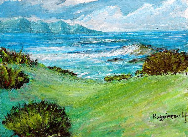 Seascape Print by Mauro Beniamino Muggianu