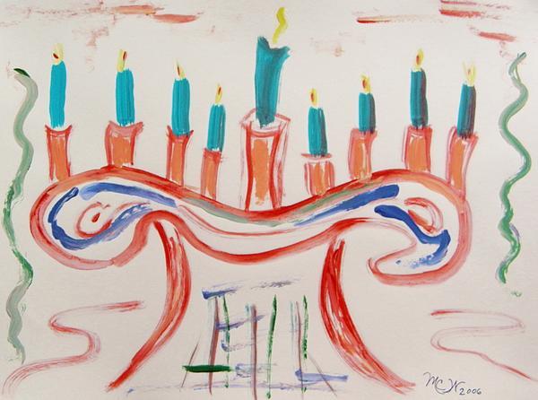 Season Of The Lights Print by Mary Carol Williams
