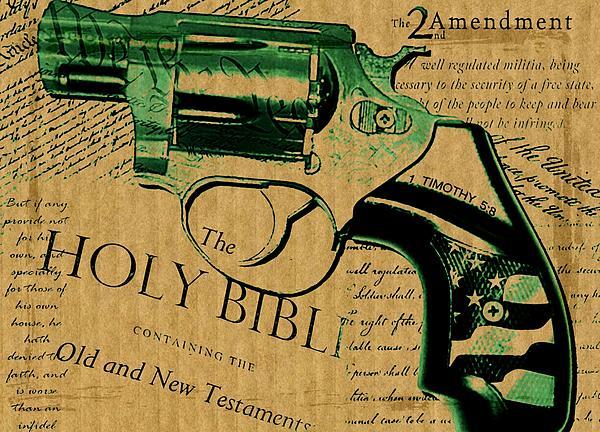 Second Amendment Print by Lauranns Etab