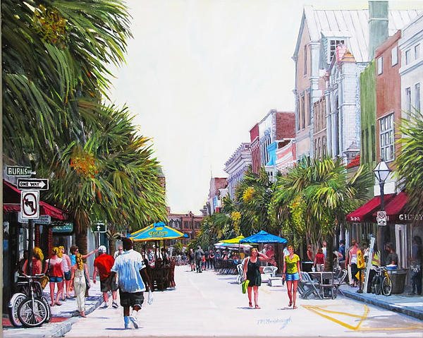 Thomas Michael Meddaugh - Second Sunday on King St.