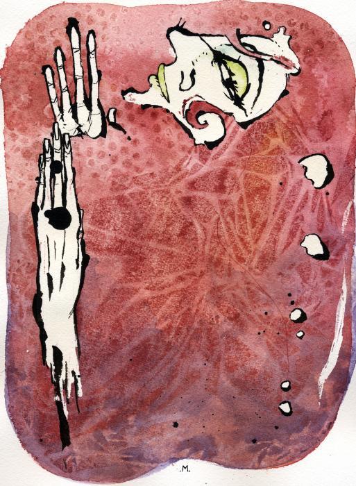 Seduction Seven Print by Mark M  Mellon