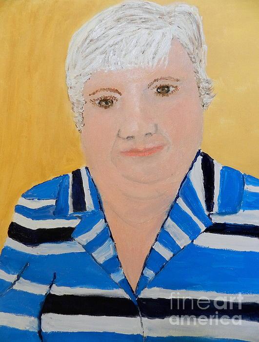 Pamela  Meredith - Self Portrait