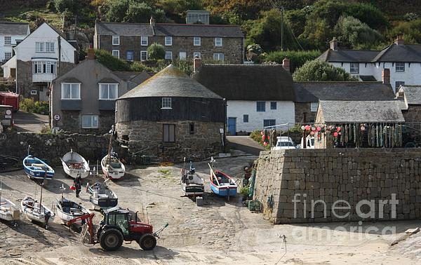 Sennen Cove Print by Linsey Williams