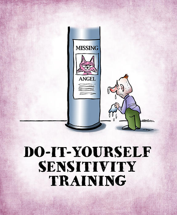 Sensitivity Training Print by Mark Armstrong