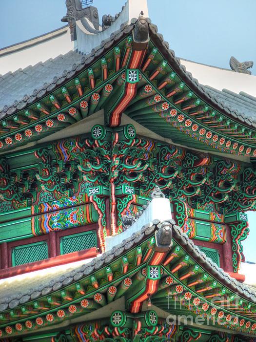 Seoul Palace Print by Michael Garyet