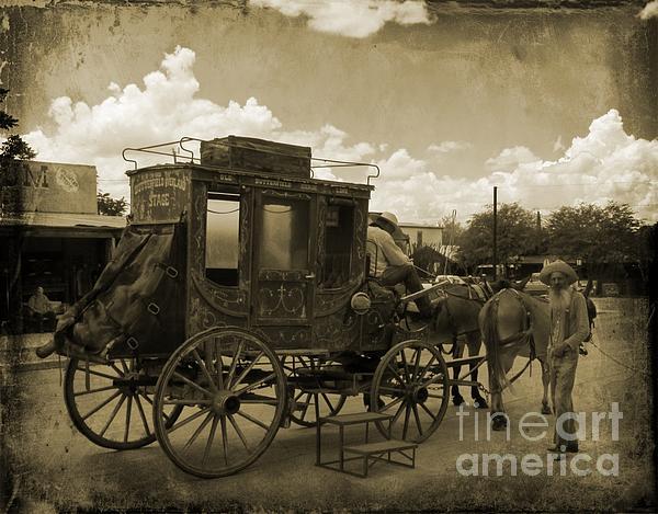 John Malone - Sepia Stagecoach