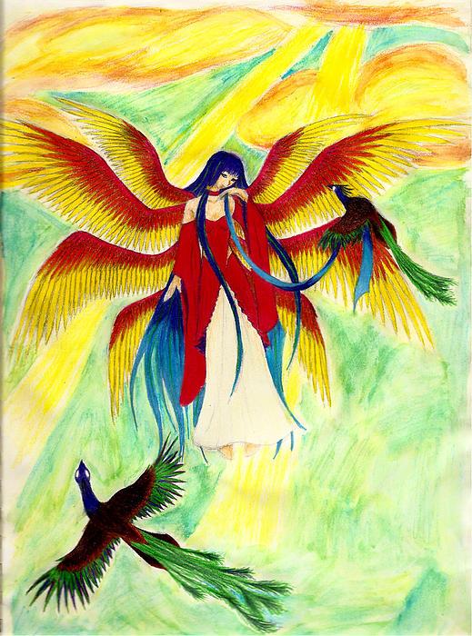 Seraphim Print by Kaleigh Civis