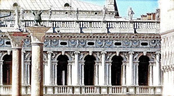 Serenade In Venice Print by Ira Shander