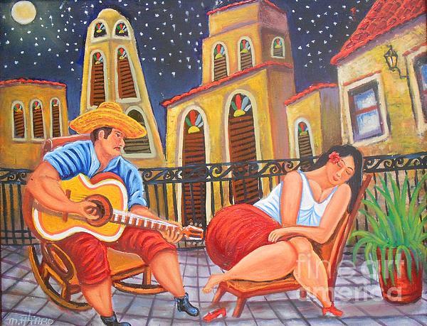 Maite Toledo - Serenade of Love at Night. Trova de Amor Nocturna