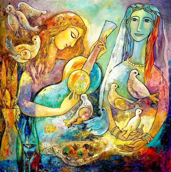 Serenade Print by Shijun Munns