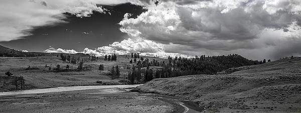 Serene Valley Print by Jon Glaser