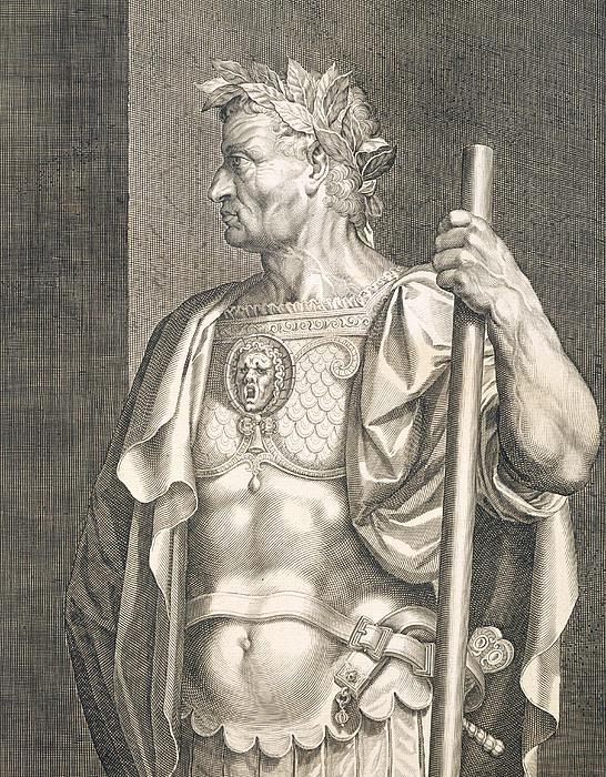 Sergius Galba Emperor Of Rome  Print by Titian