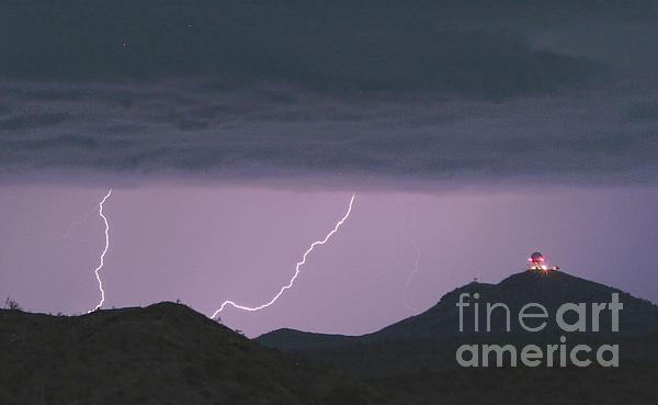 Seven Springs Lightning Strikes Print by James BO  Insogna