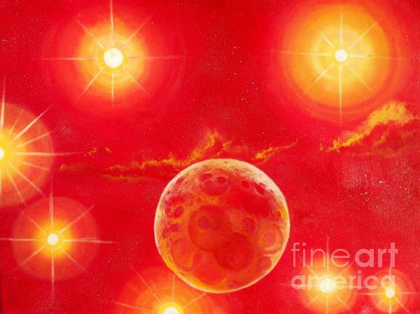 Seven Suns Print by Murphy Elliott