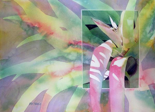 Shadow Play Print by Kris Parins