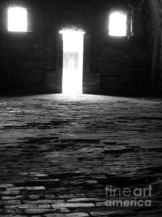 Shadow Windows  Print by KayLee Byrtus