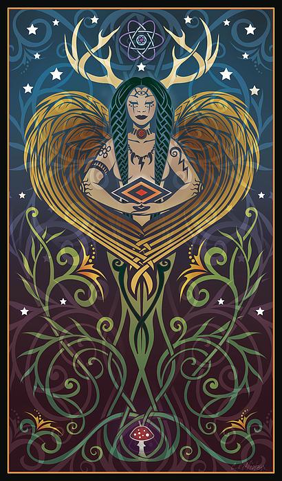 Shaman Print by Cristina McAllister