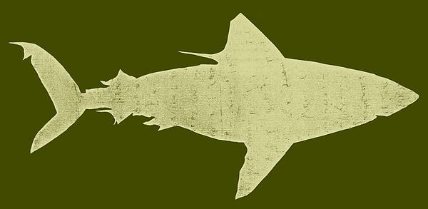 Shark Print by Michelle Calkins