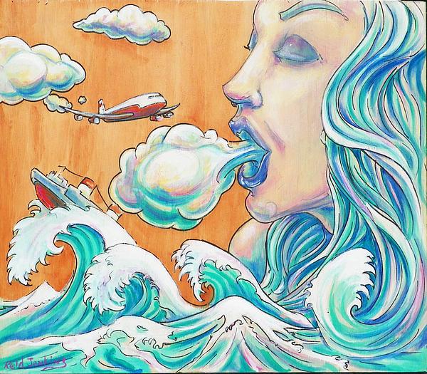 She Blows Print by Reid Jenkins