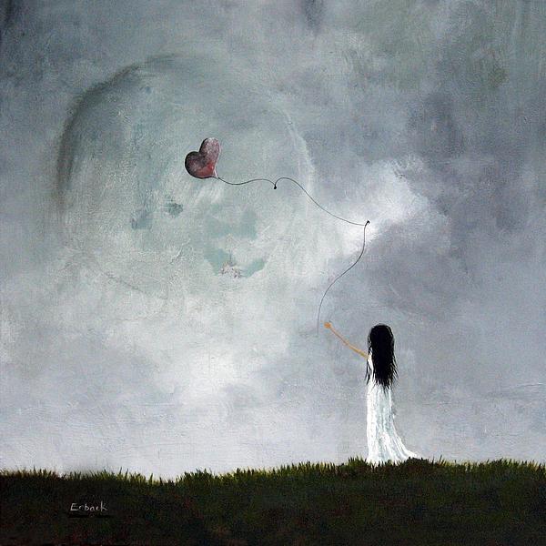 She Releases You By Shawna Erback Print by Shawna Erback