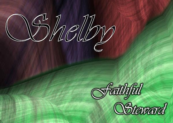 Shelby - Faithful Steward Print by Christopher Gaston