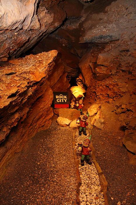 Shenandoah Caverns - 121210 Print by DC Photographer