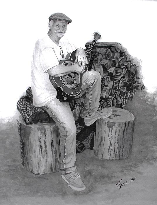 Sherman Dillon Print by Ferrel Cordle