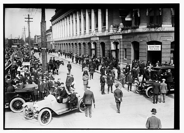 Shibe Park 1914 Print by Bill Cannon