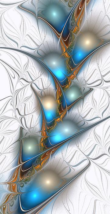 Shimmering Lights Print by Anastasiya Malakhova