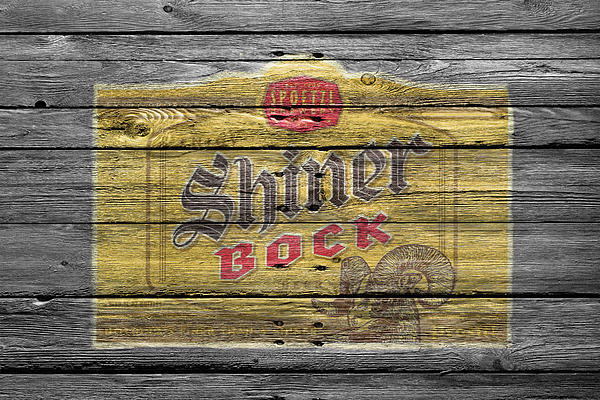 Shiner Bock Print by Joe Hamilton
