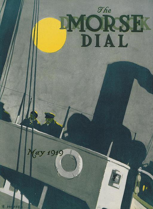 Ship At Night Print by Edward Hopper