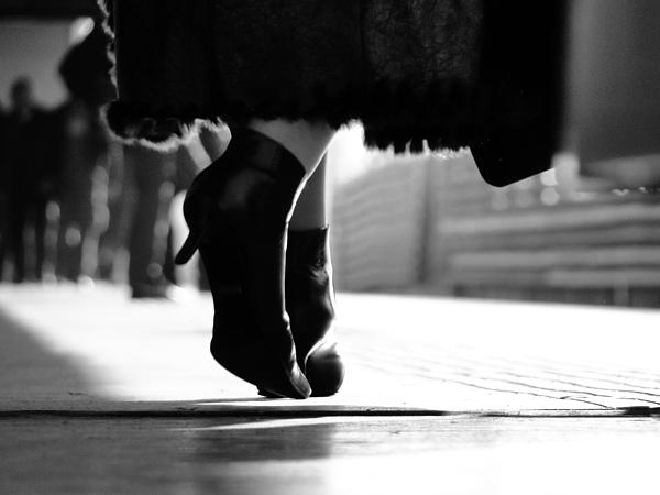 Shoes Print by Ana Leko Nikolic
