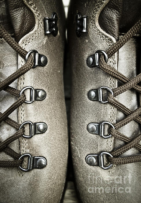 Shoes Print by Frank Tschakert