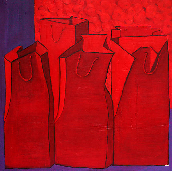 Vivian ANDERSON - SHOPPING In RED - 1