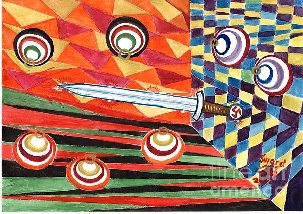 Siegfried's Sword Print by Sergey Molchanov