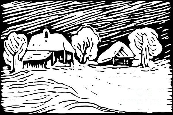 Silent Night #2 Print by Dariusz Gudowicz