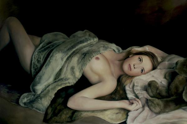 Silk Print by Marissa Oosterlee