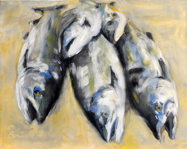Silvers In Summer Print by Timi Johnson