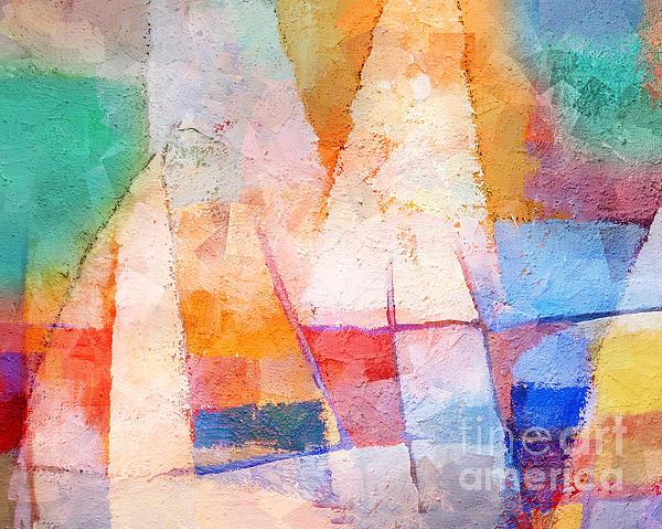 Singing Colors Print by Lutz Baar