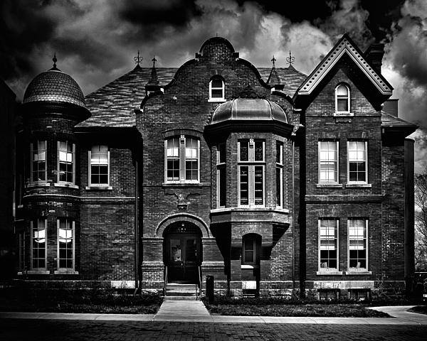 Sisters Of St. Joseph Heritage Building Toronto Canada Print by Brian Carson