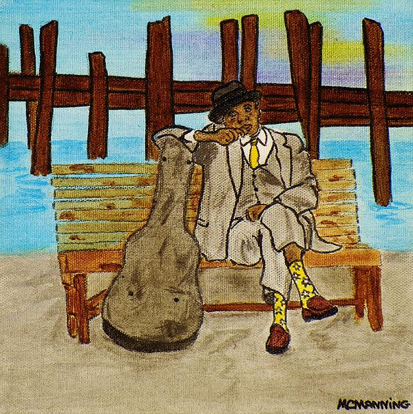 Celeste Manning - Sitting By The Dock Of The Bay