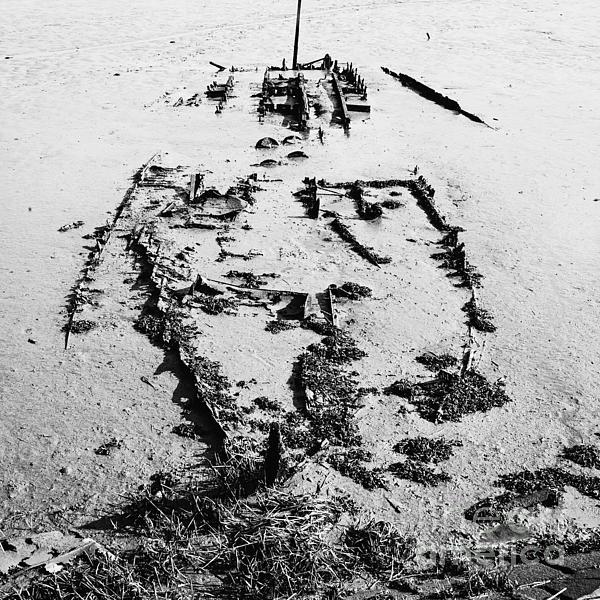 Skeleton Boat Print by Svetlana Sewell