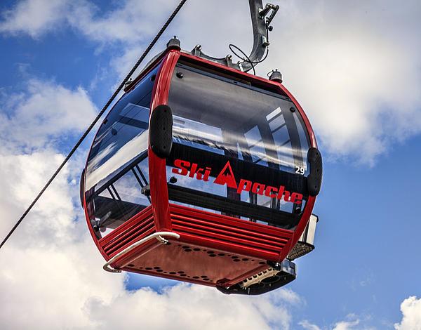 Ski Apache Gondola By Diana Powell