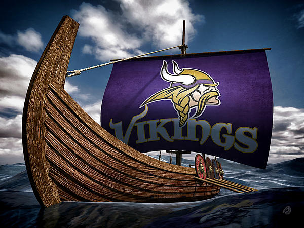 Skol Vikings Throw Pillow For Sale By Todd And Candice