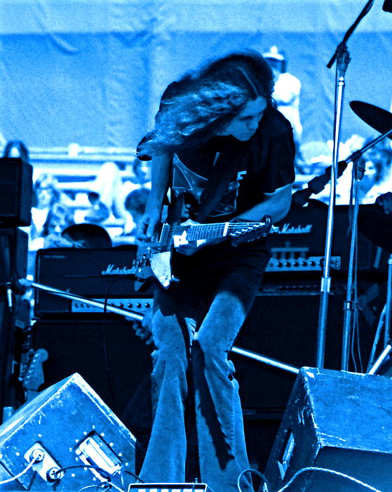 Ben Upham - Skynyrd #6 Crop 3 in Blue